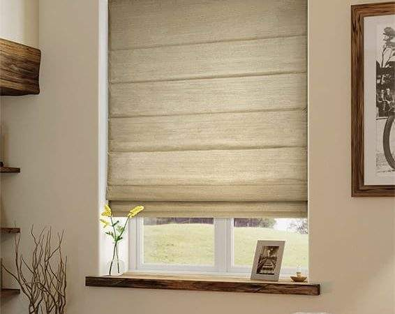 Roman Blinds Give Classical Contemporary Look