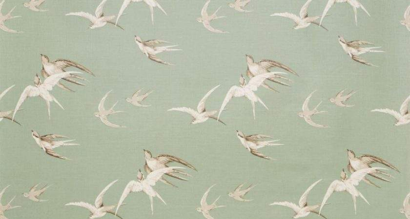 Roman Blinds Swallows Fabric Pebble Dvipsw