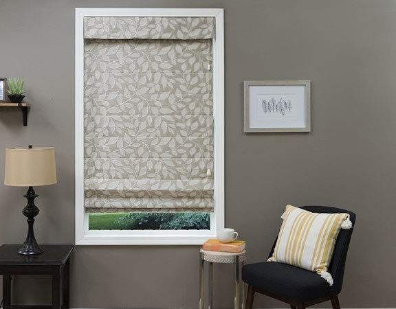 Roman Shades Beautiful Fabric Less Justblinds
