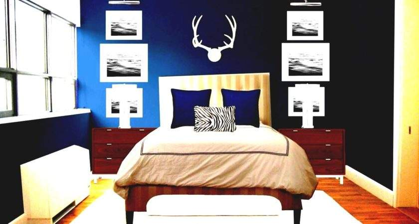 Romantic Blue Master Bedroom Ideas Double Bed