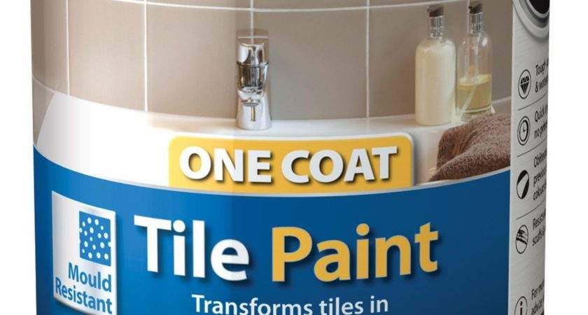Ronseal One Coat Tile Paint All Colours