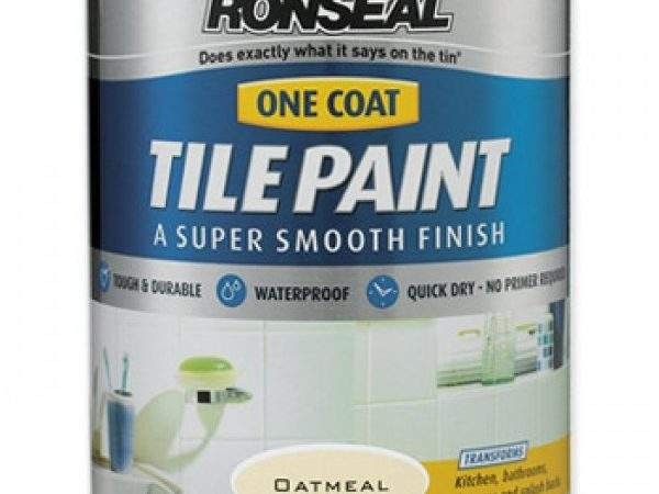 Ronseal One Coat Tile Paint Assorted Colours