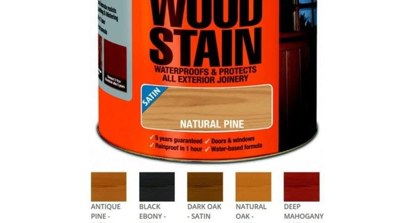 Ronseal Year Wood Stain Exterior Colours