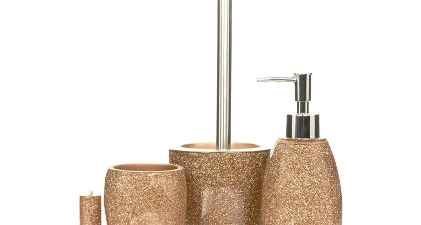 Rose Gold Coloured Bathroom Accessories