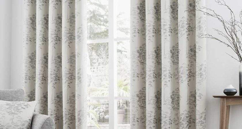 Rosenthal Son Elmwood Eyelet Curtains Silver Ready
