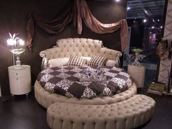Round Beds Design Ideas Spice Your Bedroom
