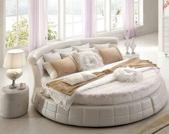 Round Beds Spice Your Bedroom