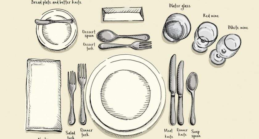 Rules Setting Your Holiday Table Why They