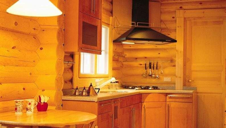 Rustic Cabin Kitchen Layout Home Design Blog