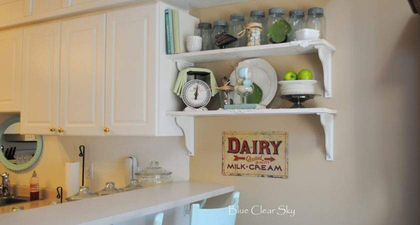 Rustic Maple Spring Shelves Our Kitchen