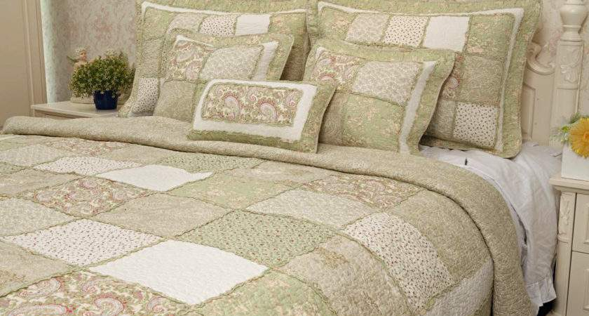 Saffron Eau Nil Our Bedspreads Throws Quilted