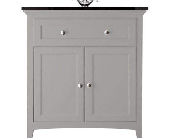 Savoy Gun Metal Grey Basin Unit Bathstore Bathroom
