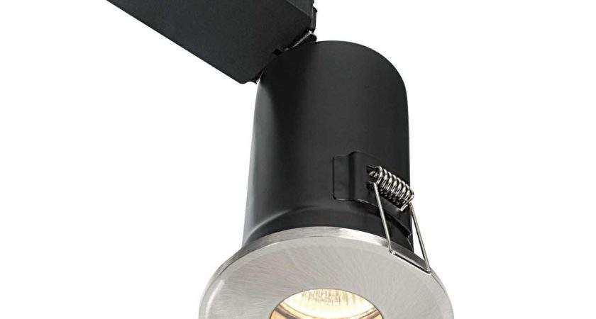 Saxby Shieldplus Bathroom Recessed Fixed Light