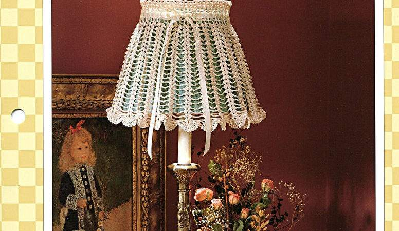 Scalloped Lampshade Lacy Cover Adjustable