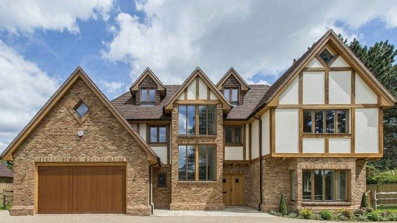 Scandia Hus Mayfield House Timber Frame Traditional Design