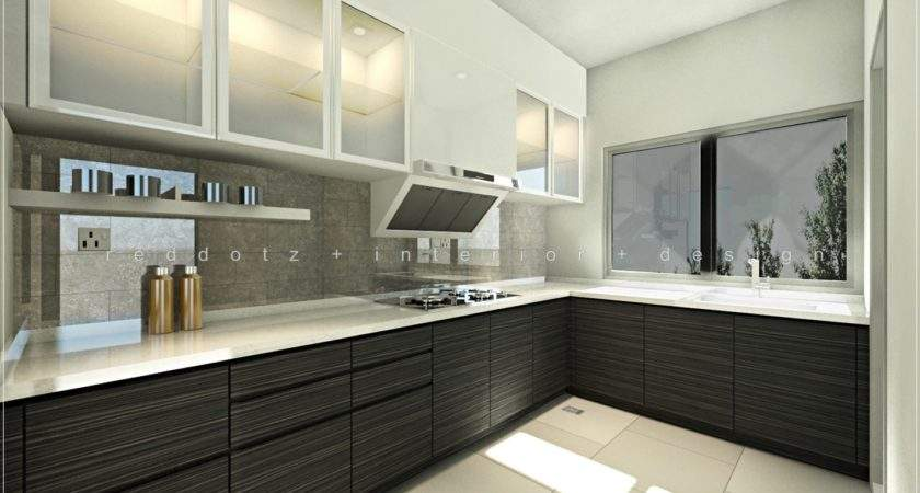Sentosa Modern Wet Kitchen Design Get Interior