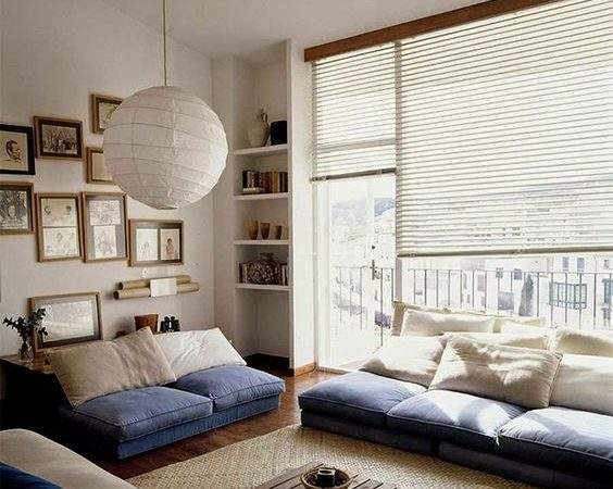 Serene Japanese Living Room Cor Ideas Digsdigs