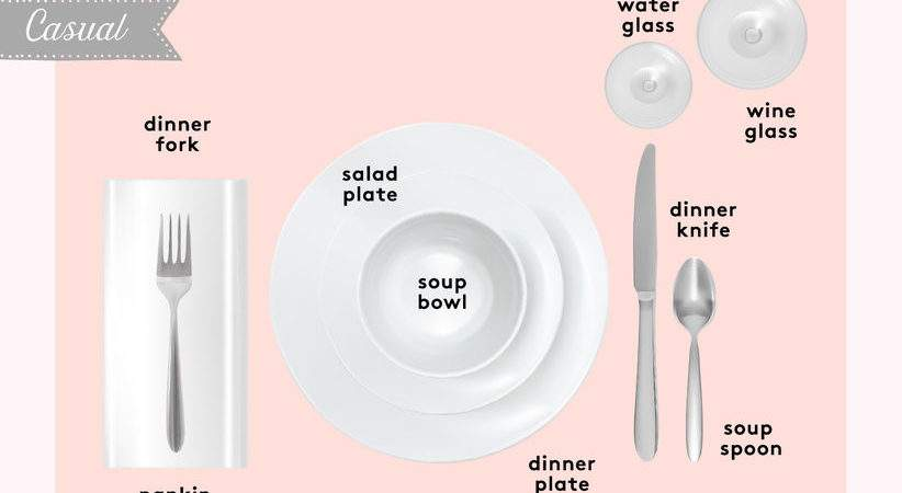 Set Table Basic Casual Formal