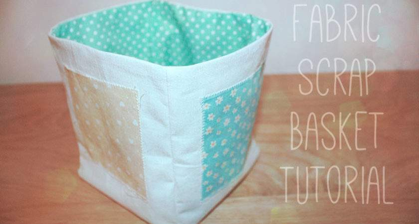 Sew Fabric Storage Boxes Toyota Sewing Blog