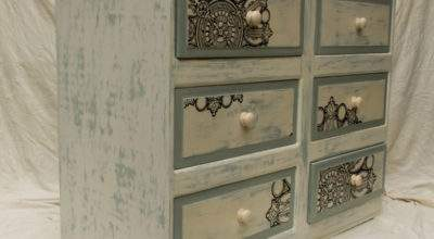 Shabby Chic Chest Drawers Touch Wood