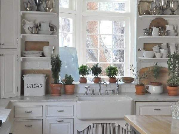 Shabby Chic Country Kitchen Design Making Your Own