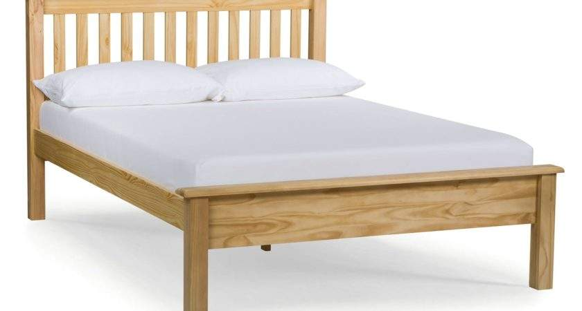Shaker Small Double Bed Frame Natural Harvey
