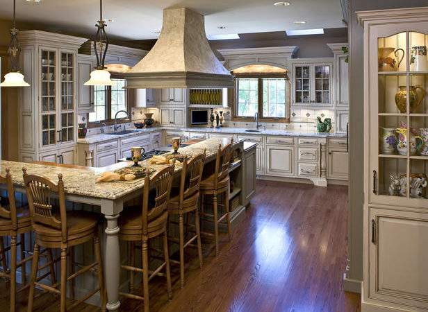 Shaped Kitchen Island Ideas Home Design Decor Reviews