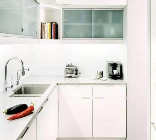 Shaped Kitchen Small Space Interior Design