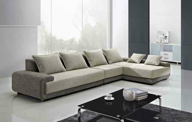 Shaped Modern Sofa Luxury Couch