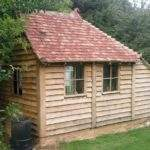 Shed Handmade Posh Luxury Outdoor Store Garden Office