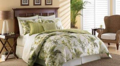 Sheet Sets Palm Trees Interior Decorating