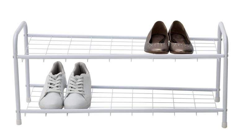 Shelf Rolling Shoe Rack