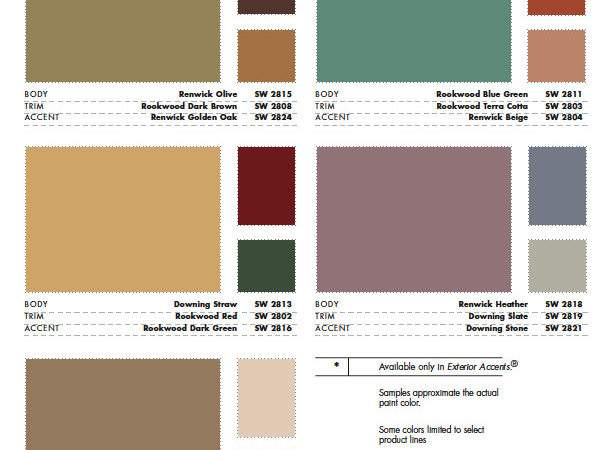 Sherwin Williams Color Schemes Grasscloth