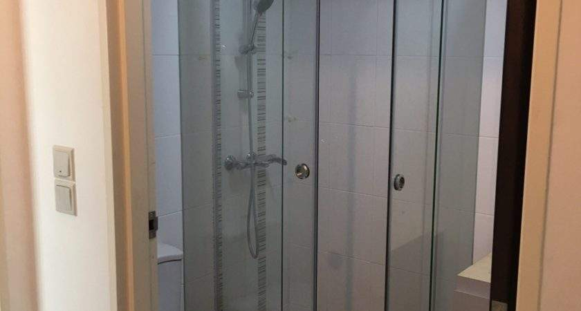 Shower Screen Sliding Door Aluminium Frame