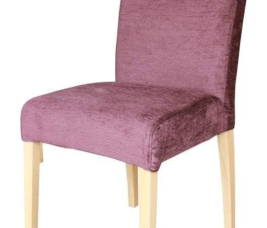 Sienna High Back Loose Cover Fabric Dining Chair