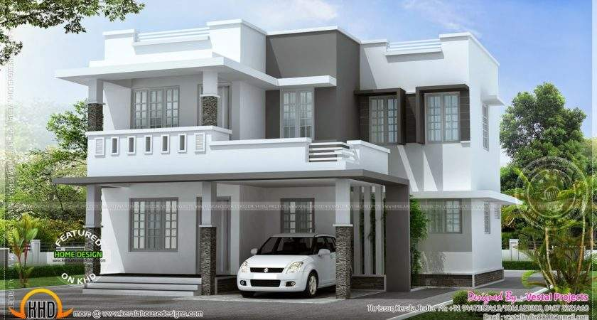 Simple Beautiful House Kerala Home Design Floor Plans