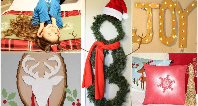 Simple Christmas House Decorations Happy Holidays
