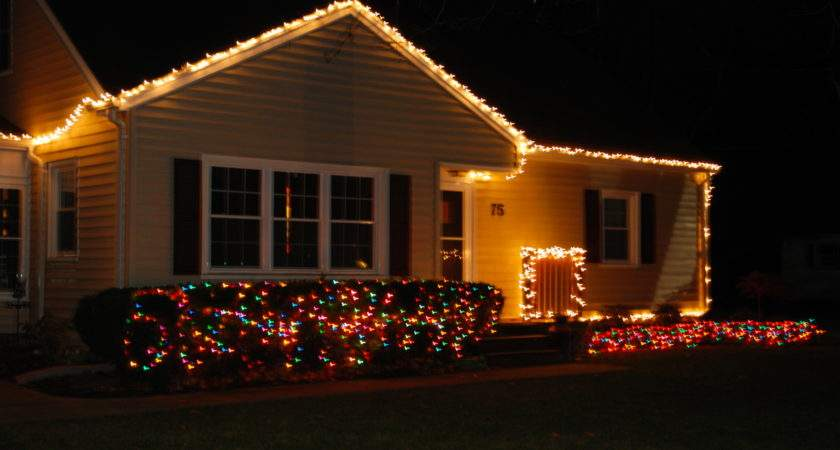 Simple Christmas Lights Houses Dma Homes