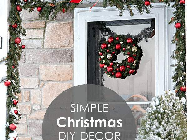 Simple Elegant Holiday Cor Our Home Tour Rosyscription