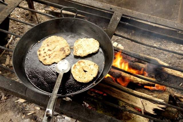 Simple Flatbread Recipe Campfire Cooking Hedgecombers