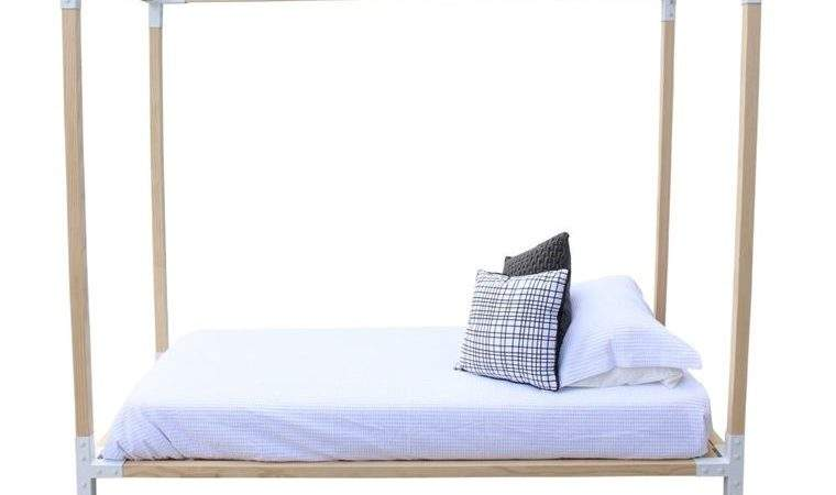 Simple Four Poster Bed Single Trade