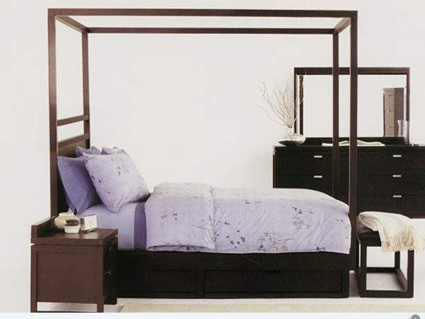 Simple Four Poster Canopy Beds Decoration House