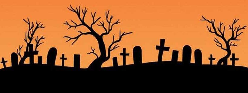 Simple Happy Halloween Timeline Cover Facebook