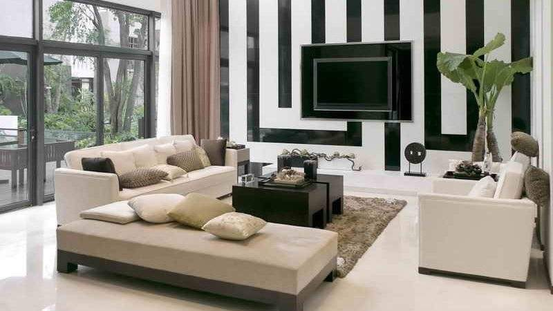 Simple Living Room Setup Small Space Concerning