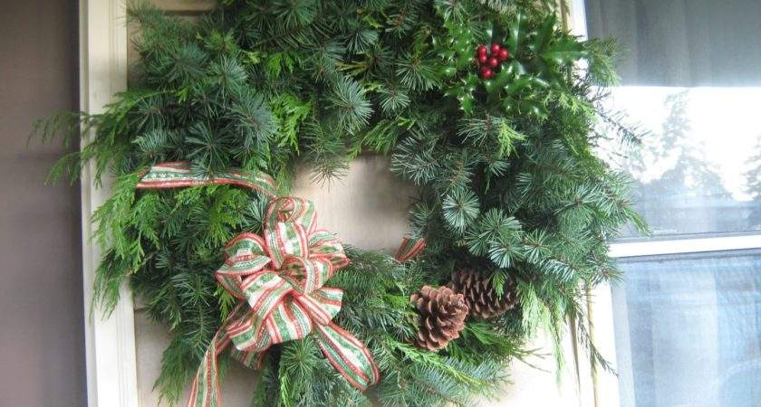 Simply Resourceful Make Christmas Wreath
