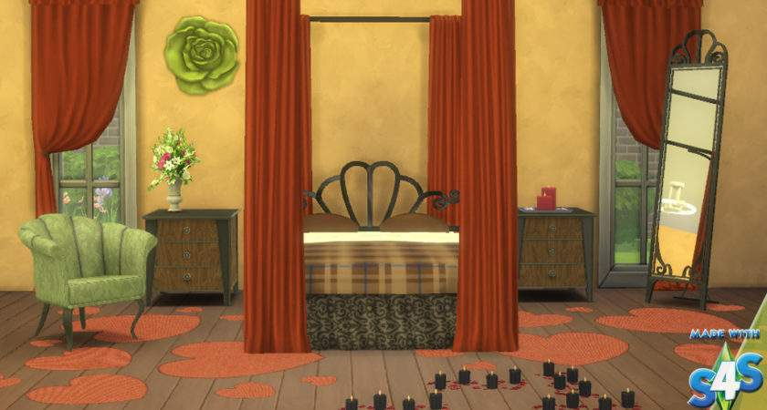 Sims Blog Romantic Bedroom Set Conversions