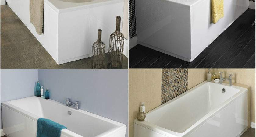 Single Double Ended Curved Rectangle Square Shower Bath