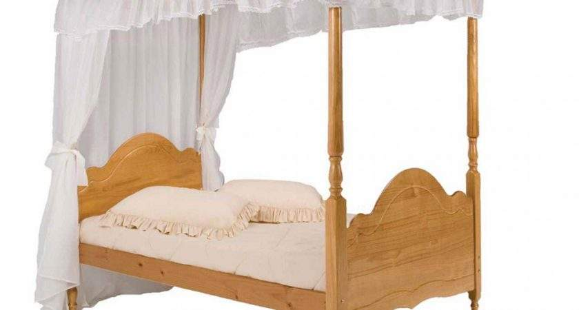 Single Four Poster Bed Frame New