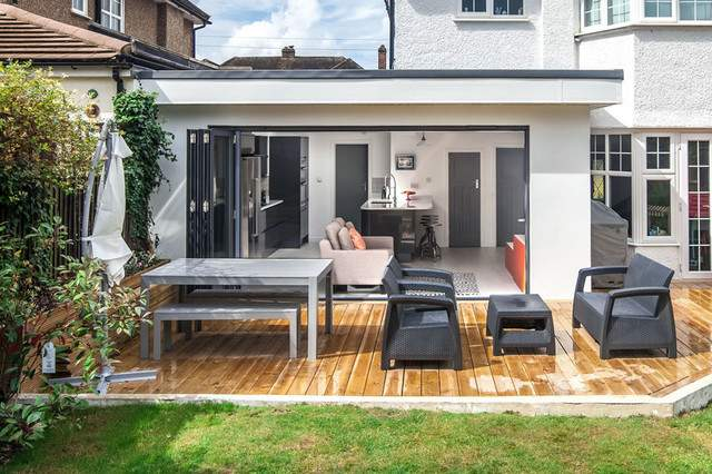 Single Storey Extension House Long Ditton