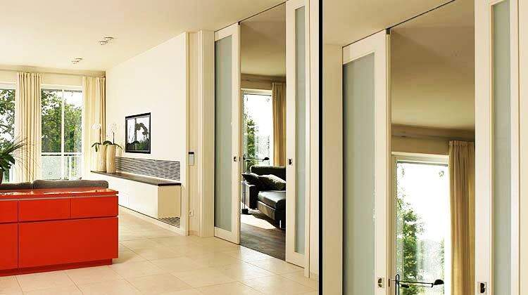 Sliding Pocket Doors Inside House Homefurniture